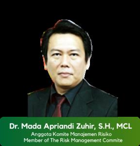 Dr. Mada Apriandi Zuhir, S.H., MCL
